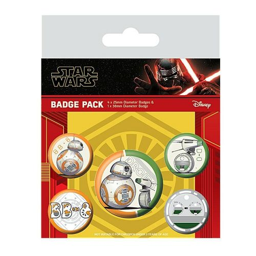 Star Wars Droids Button Badge Pack